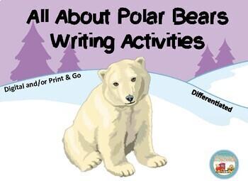 Polar Bears, Writing Prompts, Graphic Organizers, Diagram