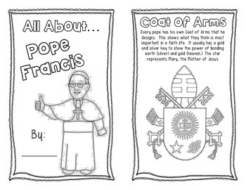 All About Pope Francis Booklet
