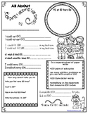 """All About"" Poster: 100th Day of School"