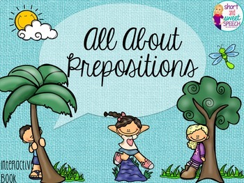 All About Prepositions: Interactive Book and Homework Companion