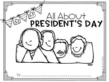 """""""All About President's Day"""" A Cut-a-Sentence Book"""