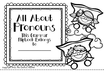 All About Pronouns-A Tabbed Reference Flipbook