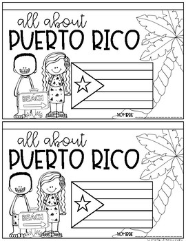 All About Puerto Rico Booklet