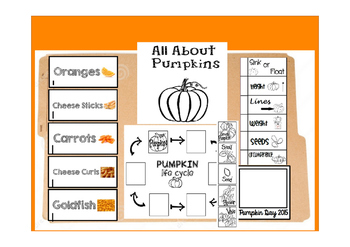 All About Pumpkin Lapbook