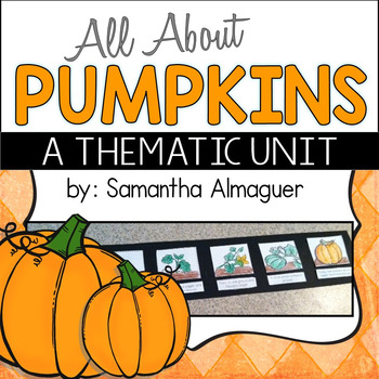 Pumpkin Unit {All About Pumpkins for Grades 1-3}