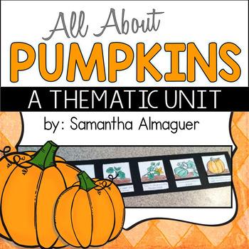 Pumpkin Unit {All About Pumpkins for Grades 1-3}