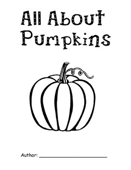 All About Pumpkins Book