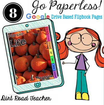 All About Pumpkins Book Student Nonfiction Writing Present