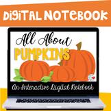 All About Pumpkins Digital Notebook