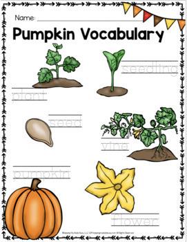 All About Pumpkins - Kindergarten Enrichment Unit 2 - Pumpkin Science - Math