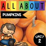 Pumpkins - Kindergarten Enrichment Unit 2 - Pumpkin Science - Math Reading