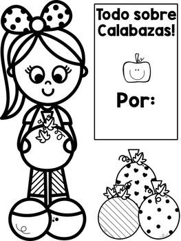 All About Pumpkins Lap-Book / Todo Sobre Calabazas Lap-Book