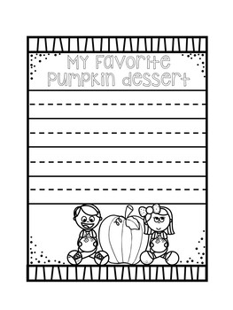 All About Pumpkins Lap book