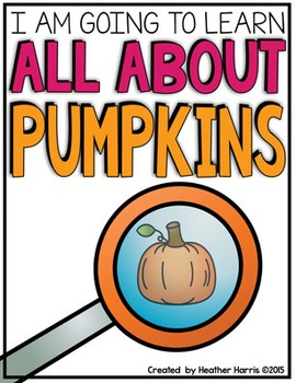 All About Pumpkins: Life Cycle Printables