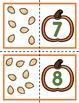 All About Pumpkins Math centers for Preschool, PreK, K & Homeschool