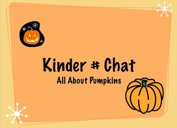 All About Pumpkins Number Chat