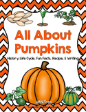 All About Pumpkins Reading and Writing Unit