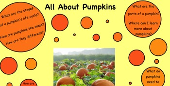 All About Pumpkins SMART Board Unit