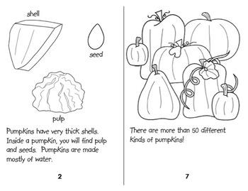 All About Pumpkins - Student Reader