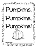 All About Pumpkins Writing