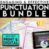 Punctuation Teaching Bundle: Lessons, PowerPoints, activities, tests