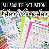 Punctuation Teaching Unit: Colons and Semicolons