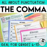 Punctuation Teaching Unit: Commas