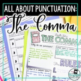Punctuation Teaching Unit: Commas