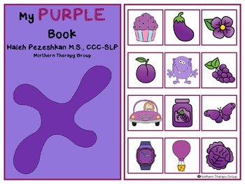 All About Purple Interactive Book and Activities
