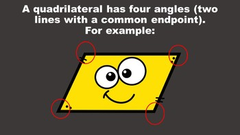All About Quadrilaterals - A PowerPoint Game