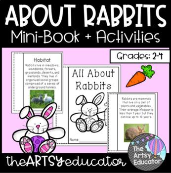 All About Rabbits Mini Book and Graphic Organizer!