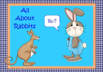 All About Rabbits Task Cards