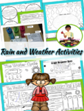 Rain, Weather, Water Cycle, NonFiction (Rain Foldable & We