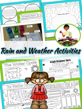 Spring Activities  Weather  Water Cycle