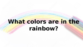 All About Rainbows