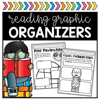 All About Reading Organizers