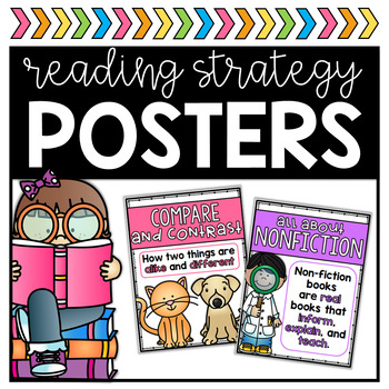 All About Reading Posters