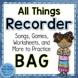 Recorder Bundle: All Things BAG