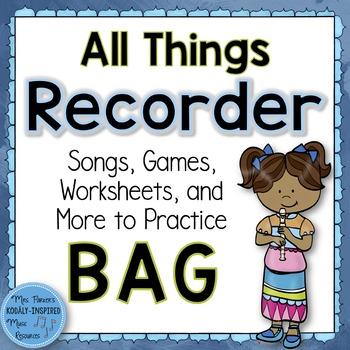 Recorder Bundle: All Things BAG