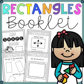 FREE 2D Shape Book- All About Rectangles