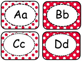 """""""All About Red"""" Classroom Design Collection Pack"""