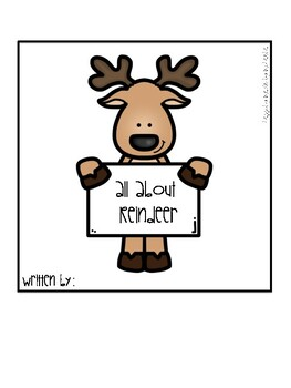 All About Reindeer Booklet