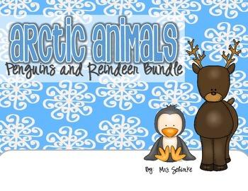 Reindeer and Penguins Bundle Pack