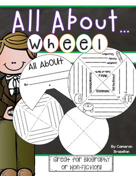 All About Report Wheel Non-Fiction Biography