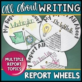 Informational Writing Templates Report Wheels