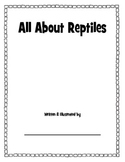 All About Reptiles booklet