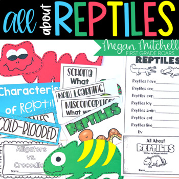 Reptile Unit for Primary Teachers