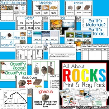 All About Rock | Rock Cycle | Earth's Materials |Soil