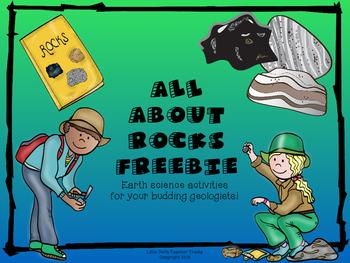 All About Rocks Freebie