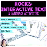 Rocks Interactive Book for Informational Text for Special